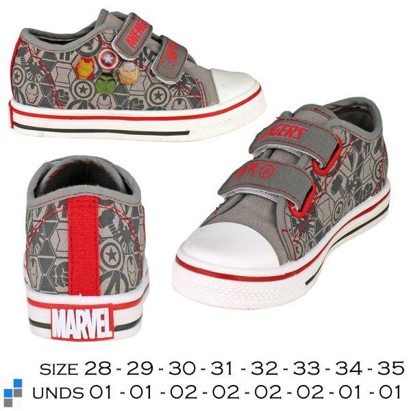 Canvas Schuhe<br> Größe 28-35<br> sortiert Marvel ...