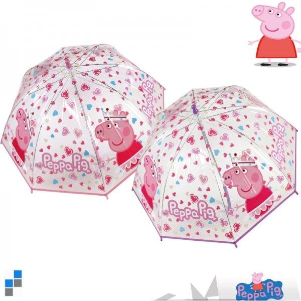 Umbrella<br> transparent Peppa<br>Pig r45cm