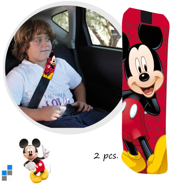 Car Girth 2-piece Mickey