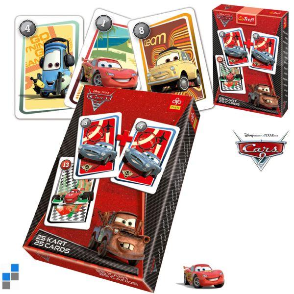 Fekete Péter<br> Játékkártyák Cars<br>a kijelzőn