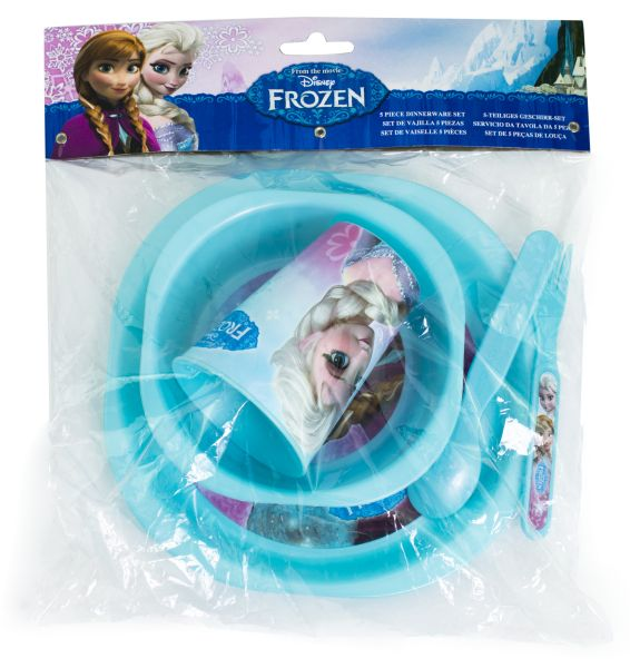 Breakfast Set<br> 5-piece Disney<br>frozen
