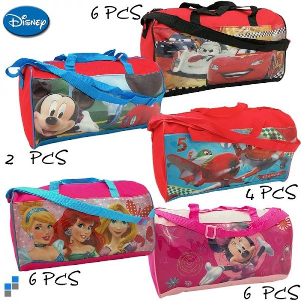 Sporttasche 5-fach<br> sortiert 37cm<br> Disney  sortiert