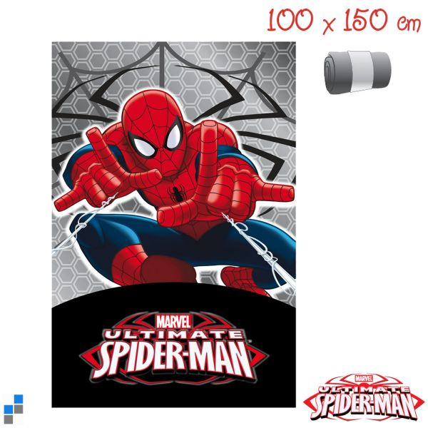 Polar Fleecedecke<br> 150x100cm Marvel<br>Spiderman