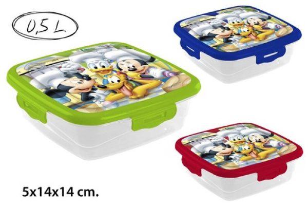 Frischhaltedose<br> 0.5L 3 assorted<br>Disney
