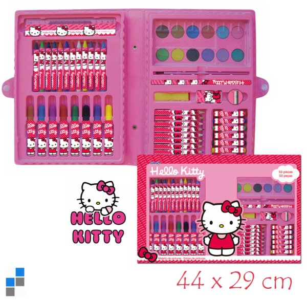 Malset 53-teilig Hello Kitty