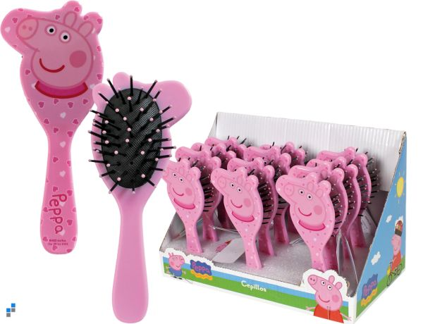 Hairbrush in the<br>display Peppa Pig