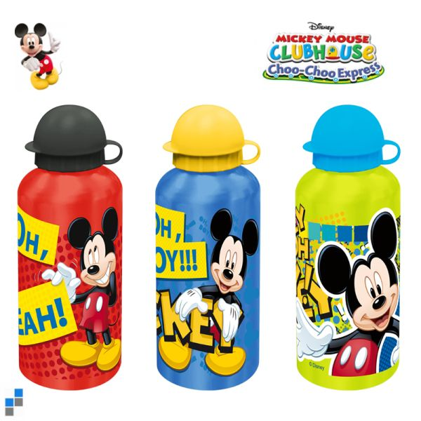 Bottle 500ml<br>aluminum Mickey
