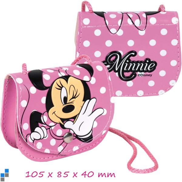 Wallet with flap<br>11cm Disney Minnie