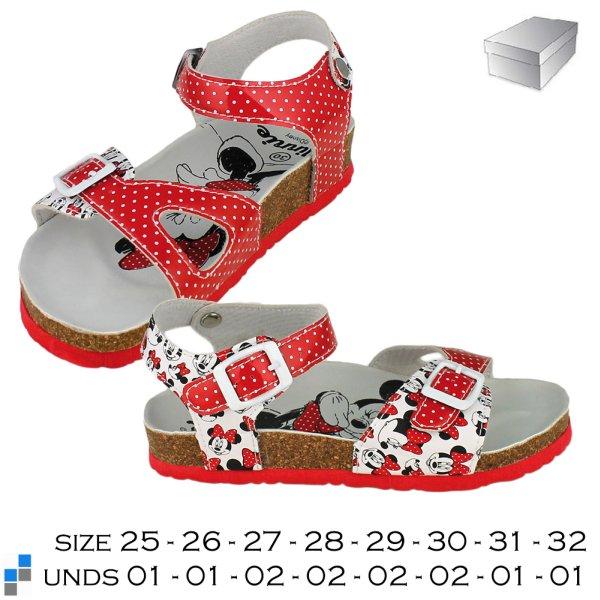 Nyári cipő szandál<br> mérete 25-32<br>rendezve Minnie