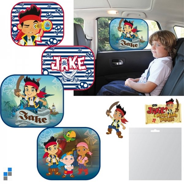 Car sunshade<br> 2-piece 4-Jake<br>Pirate
