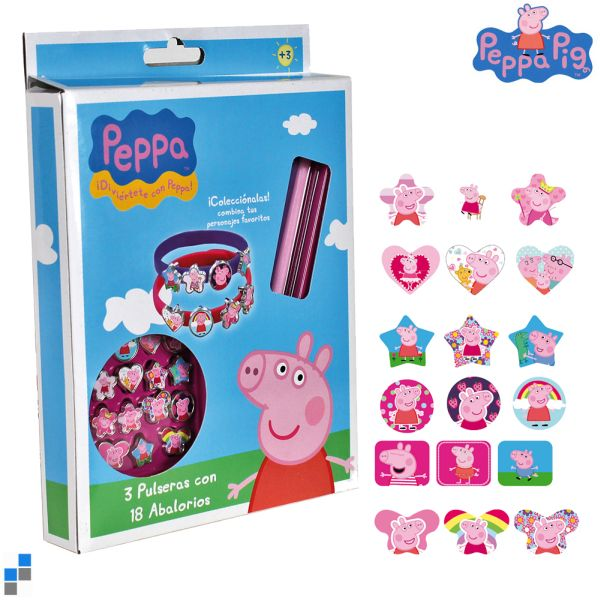 Accessories<br> Bracelet Set<br>21-piece Peppa Pig
