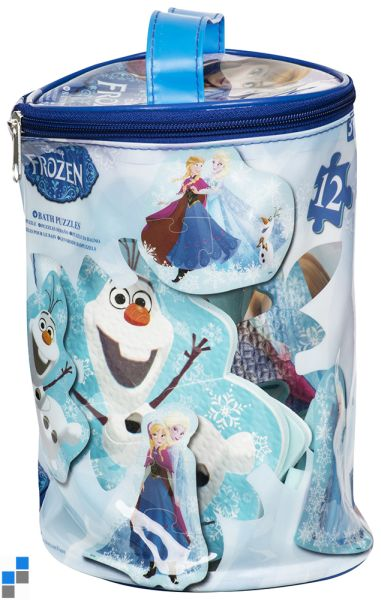 Badepuzzle 12-teilig Disney Frozen