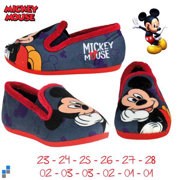 Hausschuhe Pantoffeln Größe 23-28 sortiert Mickey