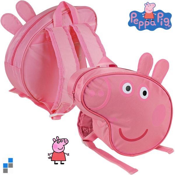 Backpack 3D ears -<br>Peppa Pig 25cm