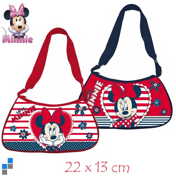 Sac à bandoulière 2 assortis 22cm Disney Minnie