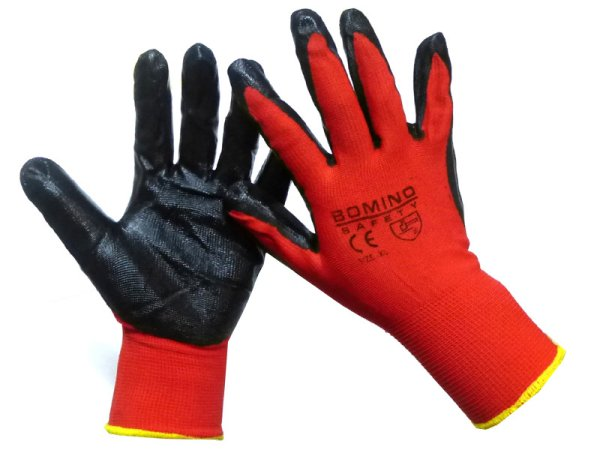 Pair of nylon work gloves to use your General