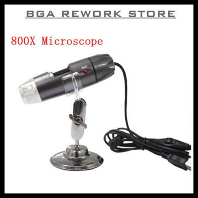 USB DIGITAL MICROSCOPE 20X - 800X NOTEBOOK PC FO