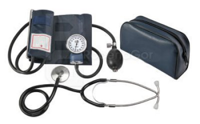 SPHYGMOMANOMETER<br> ANEROID PRESSURE<br>GAUGE / WITH