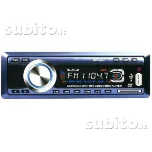 MP3 radio 1209 USB<br>/ SD / MMC PLAYER