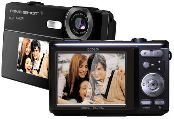 DUAL SCREEN DIGITAL CAMERA