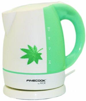 WIRELESS Wasserkocher 1,7 L weiß und grün