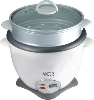 KOCHER 2 in 1: Gekochter Reis COOKER STEAM