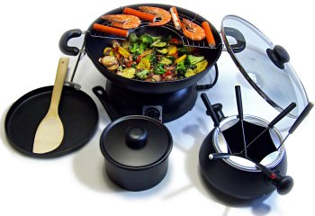 SUPER PARTY WOK 5 IN 1