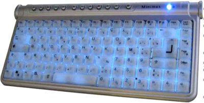 KEYBOARD COMPACT LIGHT mit Tastatur BLT