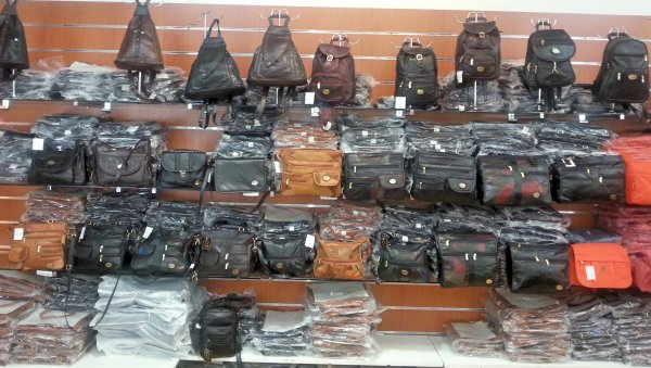 Leather Bags<br> Leather Patch Bag<br>Leisure Bag