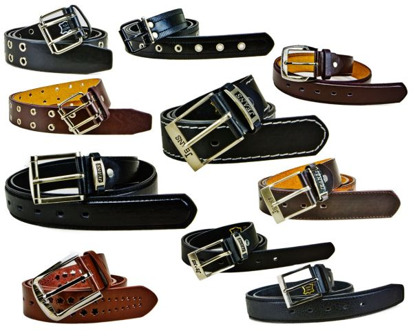 Men&#39;s belt<br> real leather belts<br>from € 1.48