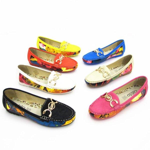 Modische Damen<br> Mokassin Slipper<br>Schuhe