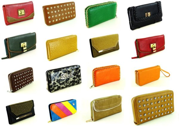 Big wide elegant<br>purses from 2,50 €