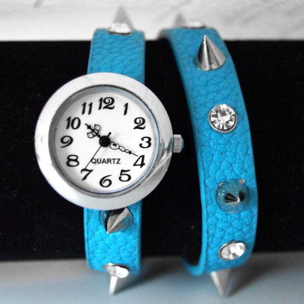 Wickel Armbanduhr Armband