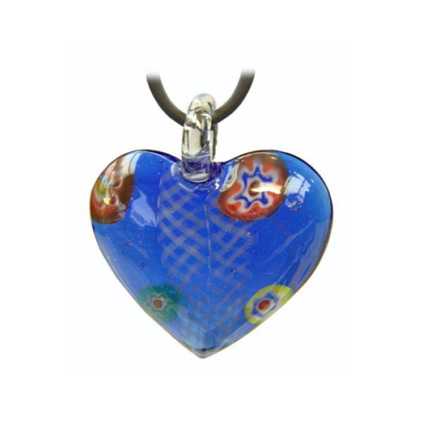Halskette Glas Herz