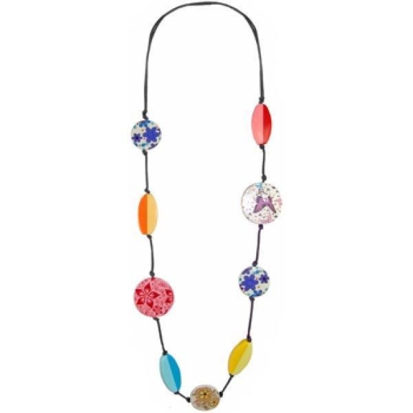 Halskette Flower Power