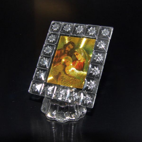 Bild Heilige Familie Glas