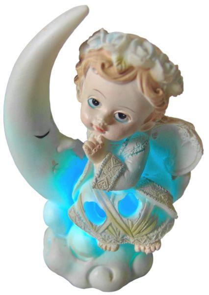 Engel Figur mit LED Beleuchtung