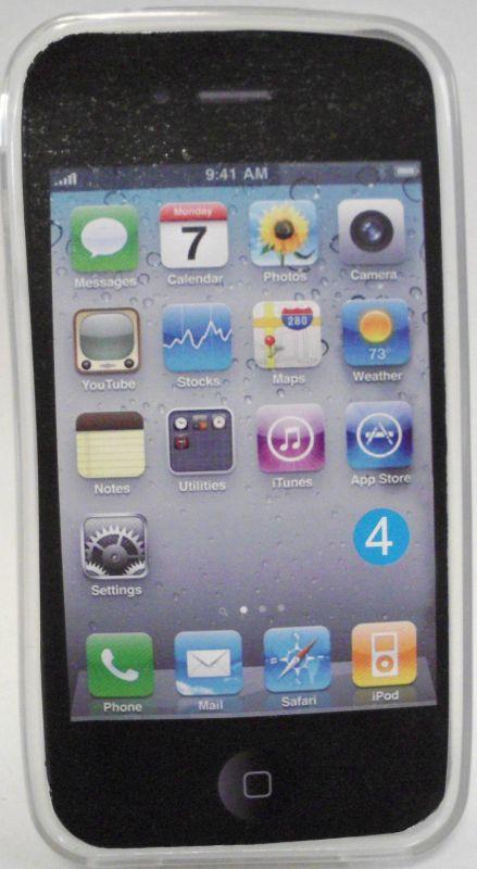iphone 4 Plastik Hülle