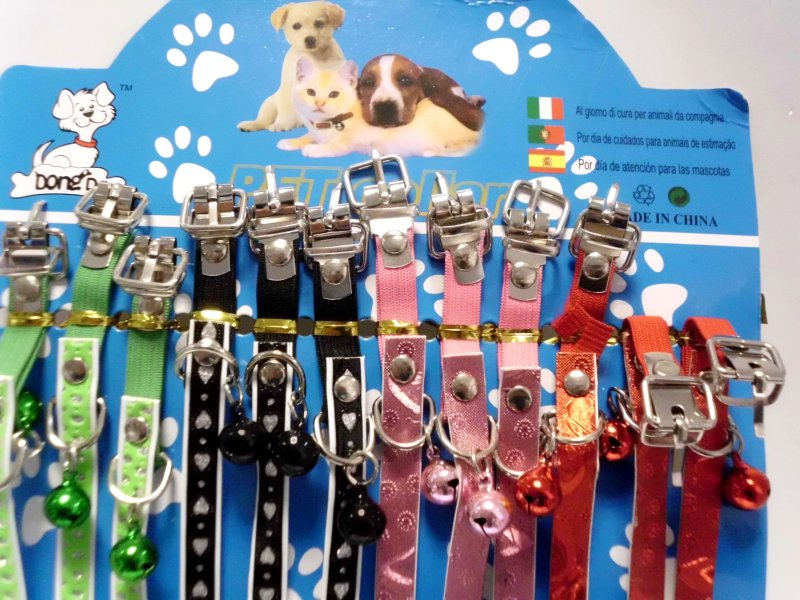 Dog collar with<br>Glockechen
