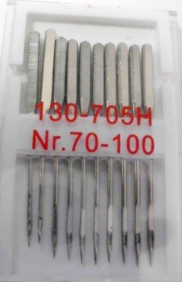 Universal Nadeln<br>Flachkolben 10 Stück