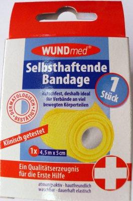 Selbsthaftende Bandage