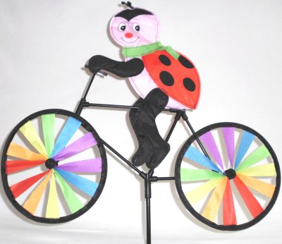 Wind turbine bicycle