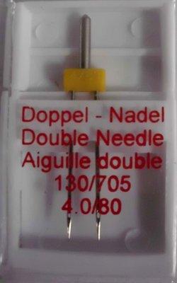 Zwillingsnadel/Doppelnadel