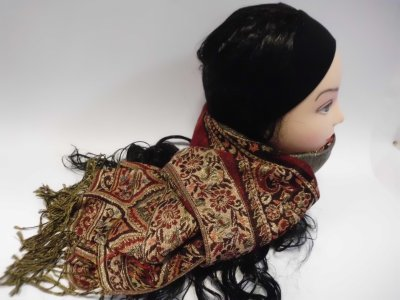 Winter scarf 606
