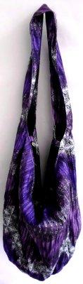 Płaszcz Bag<br> glittery / purple<br>kropki
