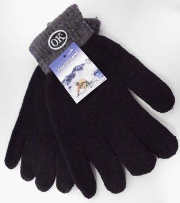 Strickhandschuh schwarz