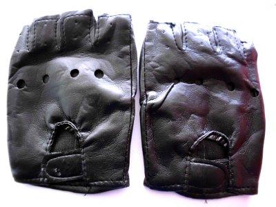 Fingerlose Handschuhe M