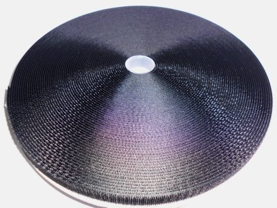 Hakenband 10mm schwarz