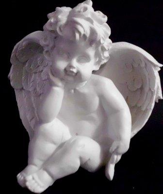 Engelfigur weiß