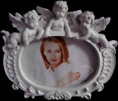 Bilderrahmen mit Engel